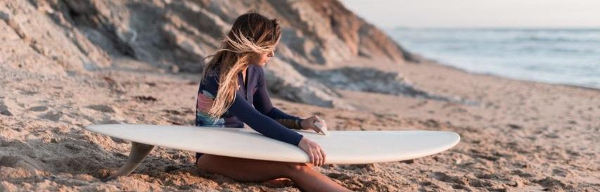 Entretien d'une planche de surf